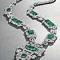 An Art Deco Emerald and Diamond <b>Sautoir</b>, by Cartier, circa 1926, previously owned by HRH Princess Faiza of Egypt