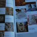 Magazine <b>ouvrages</b> broderie