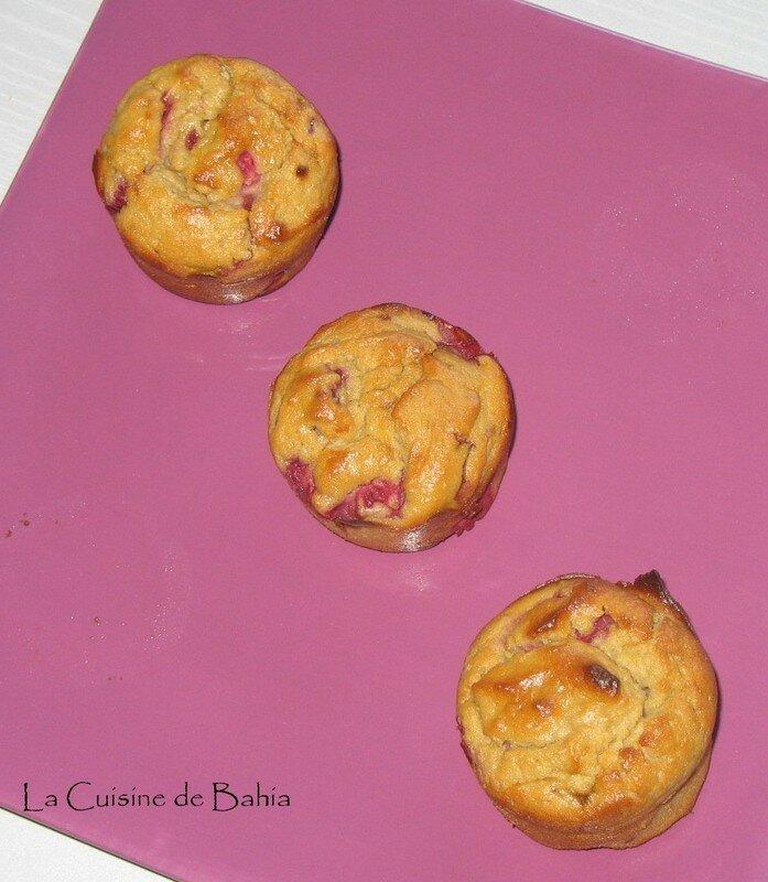 muffins framboises ricotta recette