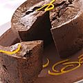 Gâteau Chocolat Aux <b>Zestes</b> D'orange