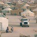 مخيمات تندوف في الجزائر
