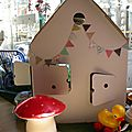<b>CABANE</b> EN CARTON KIDSONROOF