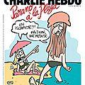 Parano à la plage - par Luz - Charlie Hebdo N°1197 - 1er juillet 2015