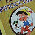 Livre <b>Collection</b> ... Pinocchio (1959) * Albums Roses *