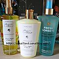 COMMANDE V-<b>SECRET</b>.FR.....SPARKLING CITRUS & FRESH SORBET