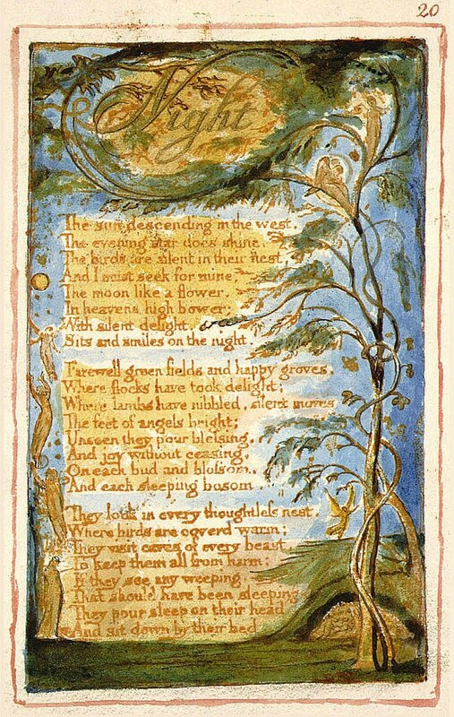 Night William Blake 1 Nuit