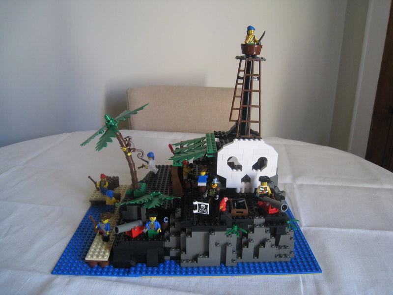 Afficher le sujet l 39 ile des pirates v1 - Ile pirate lego ...
