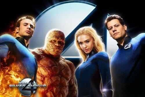 Les 4 Fantastiques 2