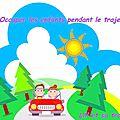 Vacances - Occuper les enfants en voiture