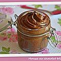 Mousse au chocolat très facile