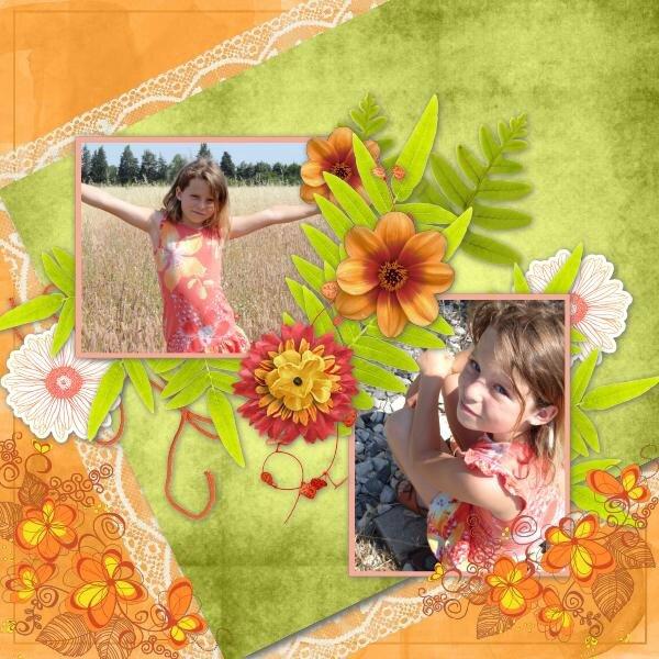 Sctap'Talou - templates pack 7 - kit Sunshine de Kastagnette et MPC - photo Caroline