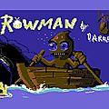 Rowman, un nouveau jeu pour le Commodore 64