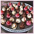 Assortiments de <b>Cupcakes</b>...Choisissez la prochaine recette du blog! ;-)