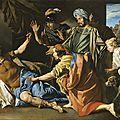 Matthias Stomer (Amersfoot 1600 - après 1652 Italie), La <b>mort</b> de Brutus