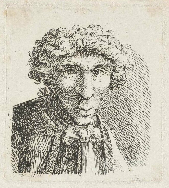 Josef Karel Burde Dessins Artgitato Vlasni Karikaturni podobizna