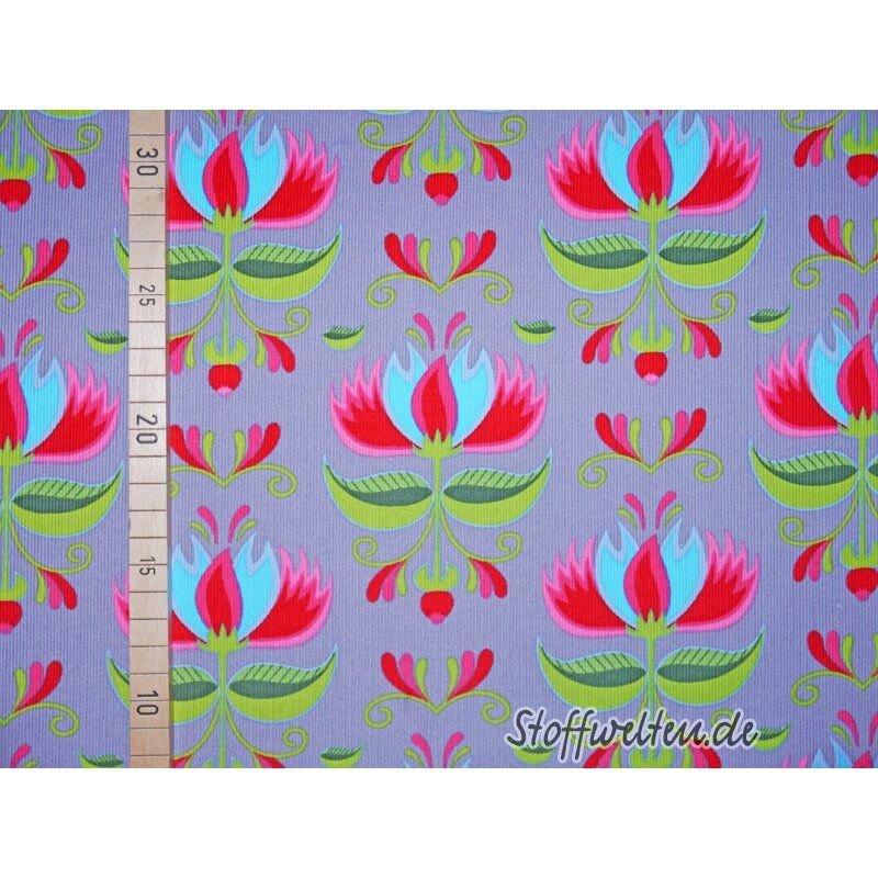 Stenzo-FEINCORD-LOVELY-FLOWER-Blumen-auf-GRAU_resultat