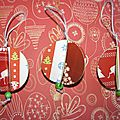 Adornos de Navidad de papel / <b>Boules</b> de <b>Nol</b> en papier
