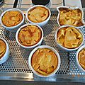 <b>CLAFOUTIS</b> INDIVIDUEL AUX PECHES