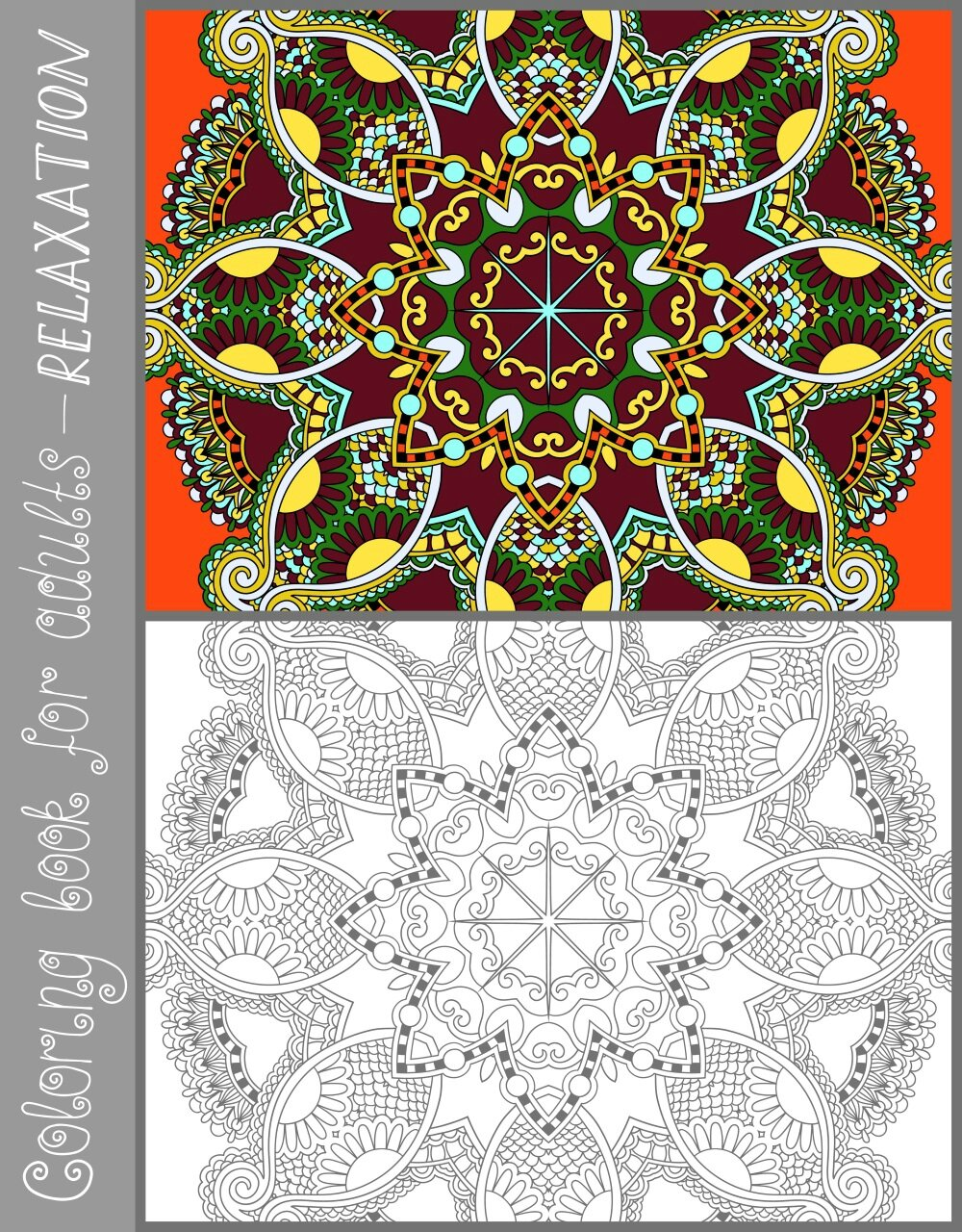 Coloriage anti stress modele - Modele coloriage ...