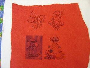 Tutorial pour imprimer sur tissu sans produit chimique l - Imprimer photo sur tissu ...