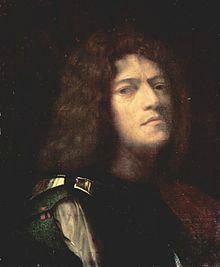 Giorgione Autoportrait en David