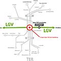 Gare <b>TGV</b> de Vandières : le CESER soutient la relance