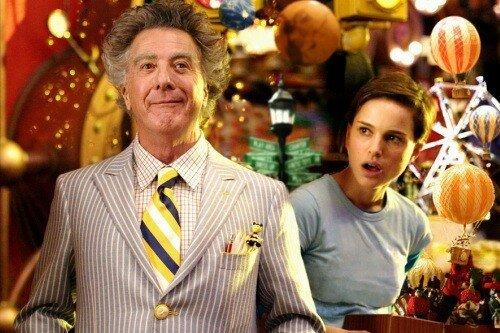 Dustin Hoffman & Natalie Portman