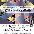 3e Rallye-Patrimoine du Giennois