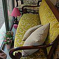 Canapé de style Restauration