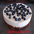 Cheesecake citron <b>myrtille</b>