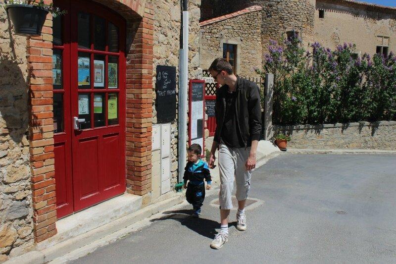Brandon et Lorenzo à Rennes le Château