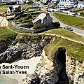 30 - Le port des Saints et l'anse Saint-Yves