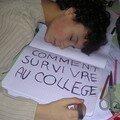 comment survivre au collège?