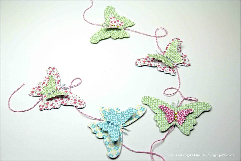 guirlande papillons color factory - DT Tacha 1p