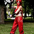 the very fashion girl , red warrior a dunkerque , le <b>cosplay</b> attitude fashion