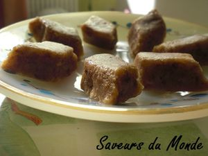 recettes dessert  Losange en pte damande