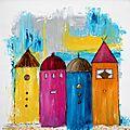 Des peintures et toujours des couleurs !