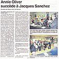 <b>Election</b> d'Annie à la Présidence de la Société des Beaux Arts de Béziers