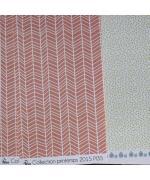 imprime-chevrons-blancs-sur-fond-saumon-fonce