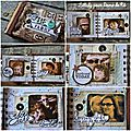 <b>Mini</b> album Tag Tim Holtz de Dame de Kit