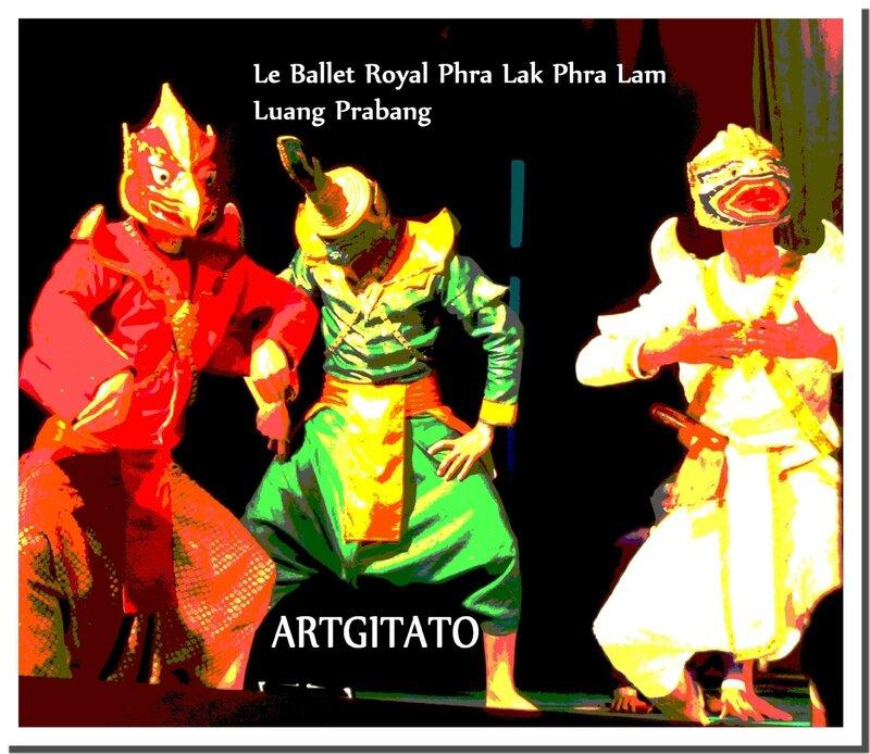 Le Phra Lak Phra Lam Luang Prabang Ballet Royal Artgitato