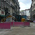Les <b>travaux</b> du tramway avenue Fontaine-Argent....