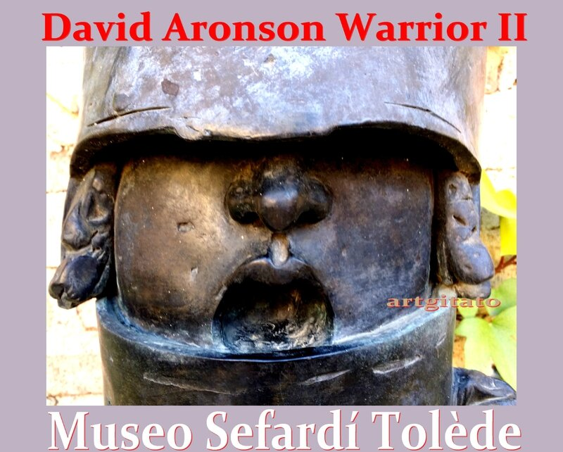 Warrior II david aronson musée safardi Toledo Tolède 2 Detail