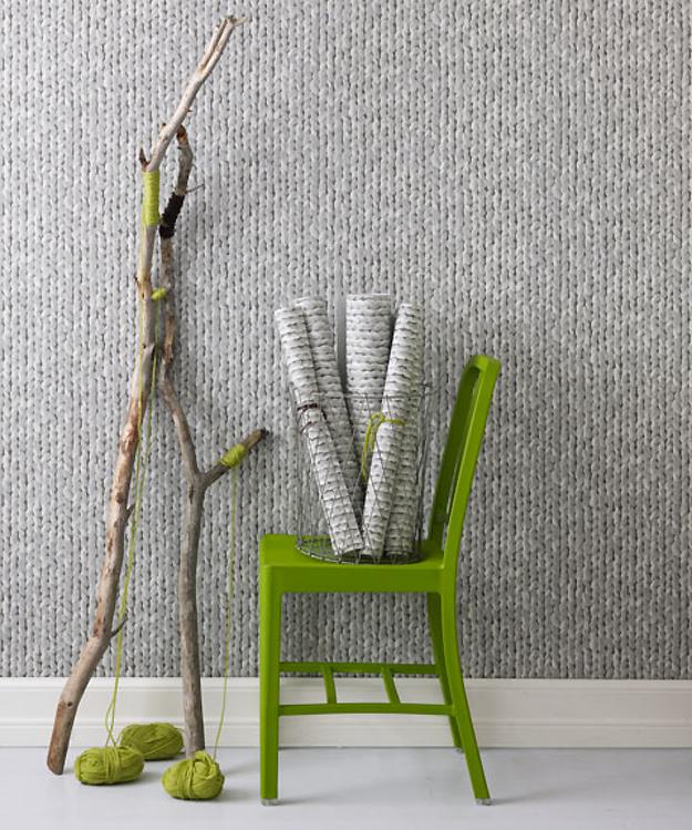 papier peint tricot trompe l 39 oeil chaleureux special modespecial mode. Black Bedroom Furniture Sets. Home Design Ideas