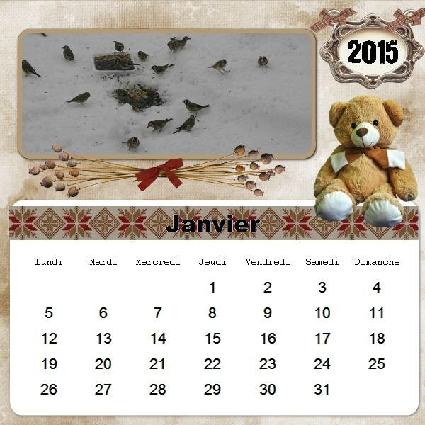 calendrier-2015-01 lovely teddy