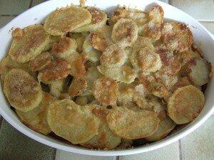 recettes  Gratin de pommes de terre