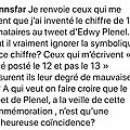 Joann Sfar en plein délire complotiste sur Edwy Plenel et les attentats du 13 novembre