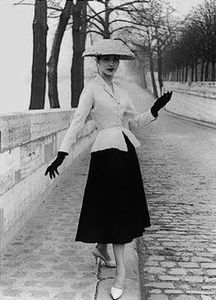 le_new_look_de_christian_dior_en_1947