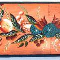 Meubles peints à la main - en Creuse, Limousin - Techniques anciennes - Noëlle Riberolle