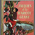 <b>Livre</b> Collection ... JACQUES et le HARICOT GEANT (1959) * Petit <b>Livre</b> <b>d</b>'<b>Or</b>